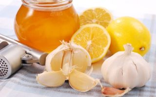 Лечение гипертонии лимоном и чесноком