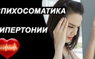 Психосоматика гипертонического заболевания