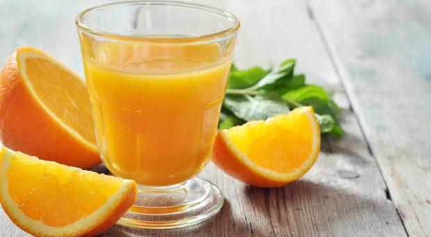 Апельсиновый сок вызывает повышение давления