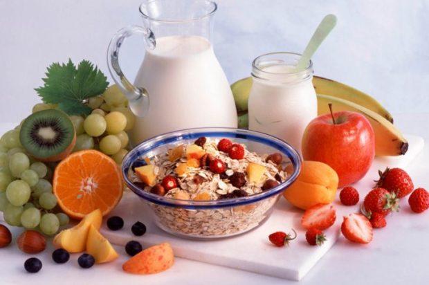 Завтрак безсолевой диеты