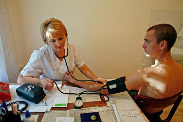 Гипертония у призывника требует дополнительных обследований