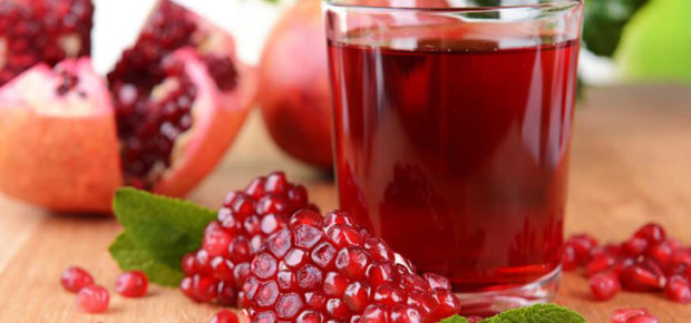Гранат и сок