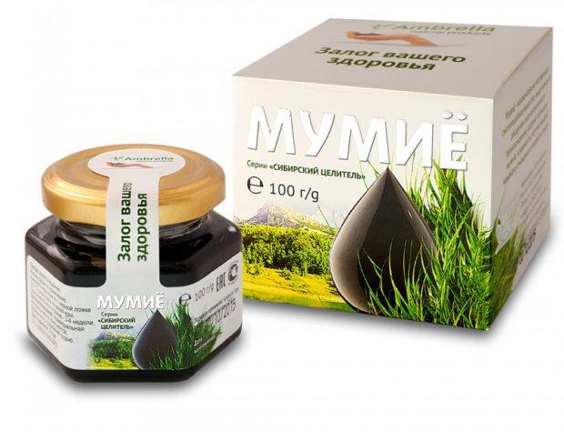 Мумие - эффективное средство