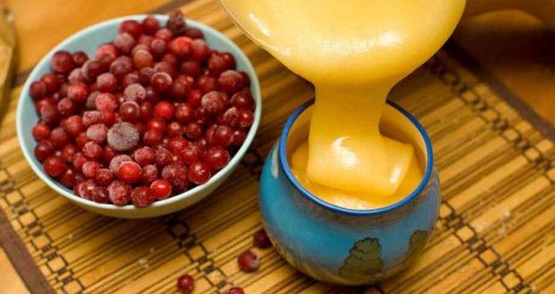 Калина с медом - рецепт