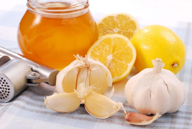 Мед с чесноком при гипертонии