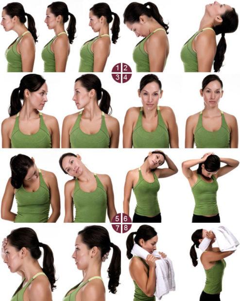 Упражнения Шишонина