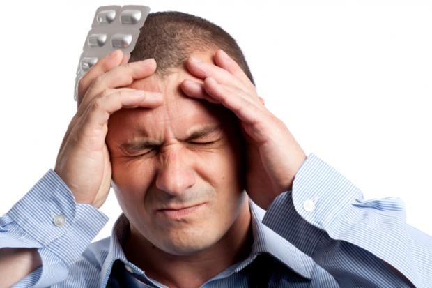 Головная боль - симптом гипертонии