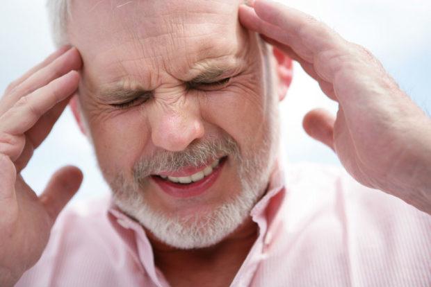 Головные боли - проявление гипертонии