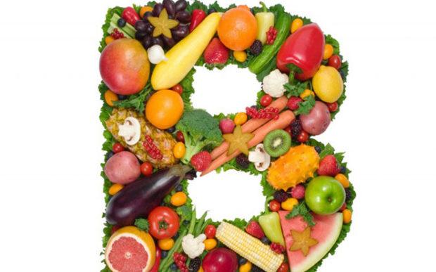 Полезные продукты с витаминами В