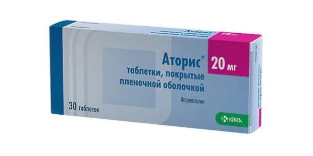 Аторис в лечение атеросклероза