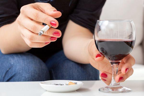 Курение и алкоголь - факторы риска