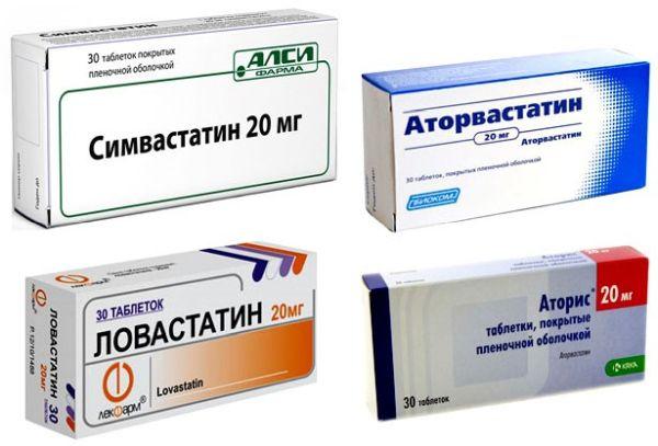 Препараты-станины от атеросклероза