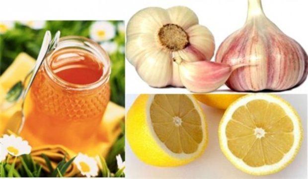 Мед, лимон и чеснок для сосудов