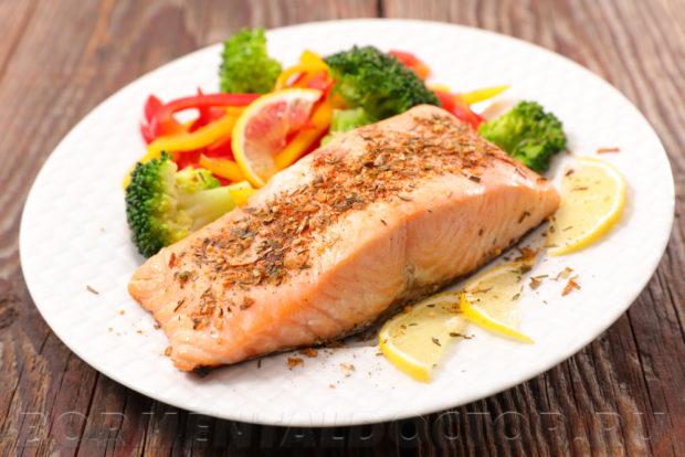 Рыба при атеросклерозе