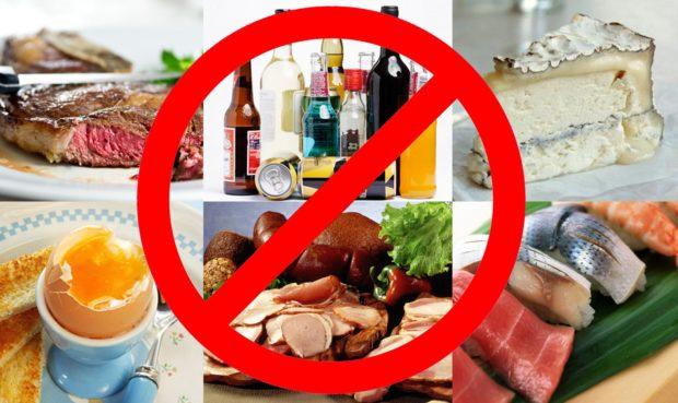 Запрещенные продукты при атеросклерозе сердца