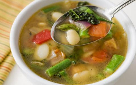 Овощной суп при атеросклерозе