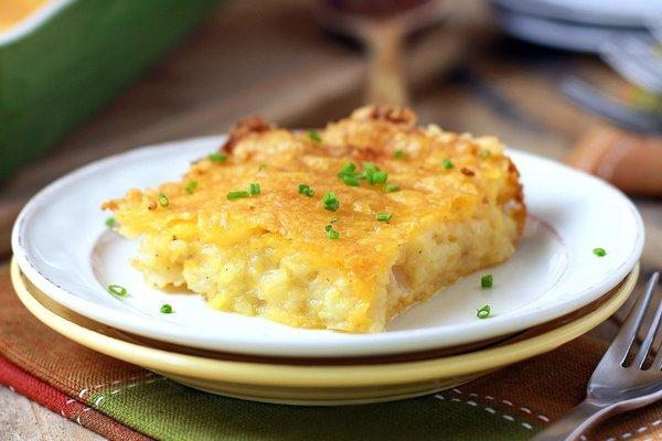 Запеканка из картофеля с сыром при атеросклерозе